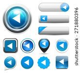 media player button | Shutterstock . vector #271880396