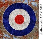 English Mod Target And Rusty...