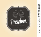 isolated bar label with text on ... | Shutterstock .eps vector #271923482