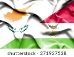 waving flag of tajikistan and... | Shutterstock . vector #271927538