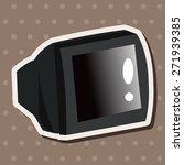 home appliances theme tv...   Shutterstock .eps vector #271939385