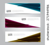 vector design banner background ... | Shutterstock .eps vector #271944986