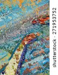 macro artist's palette  texture ... | Shutterstock . vector #271953752