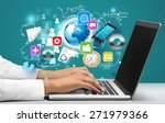 healthcare and medicine ... | Shutterstock . vector #271979366