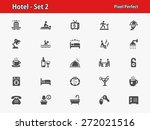 hotel icons. professional ... | Shutterstock .eps vector #272021516