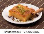 Cheese Desert Or Cheese Semolina