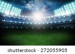 stadium  soccer  field. | Shutterstock . vector #272055905