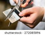 credit card  debt  cutting.   Shutterstock . vector #272085896