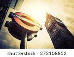london   april 10  the big ben. ... | Shutterstock . vector #272108852