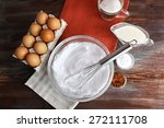 Whipped Egg Whites For Cream On ...