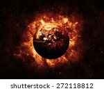 end of the world   elements of...   Shutterstock . vector #272118812