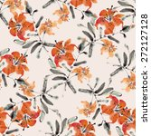 seamless pattern with... | Shutterstock . vector #272127128