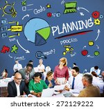 planning strategy search goals... | Shutterstock . vector #272129222