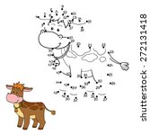 numbers game  calf  | Shutterstock .eps vector #272131418