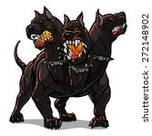 Mythological Dog Cerberus.