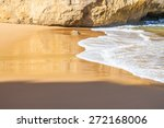 the wave with the sand | Shutterstock . vector #272168006