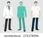 set of medical characters... | Shutterstock .eps vector #272178596