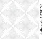 gray line graphic pattern... | Shutterstock .eps vector #272183276