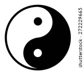 ying yang balance flat icon for ... | Shutterstock .eps vector #272229665