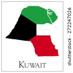 vector illustration of kuwait... | Shutterstock .eps vector #272247026