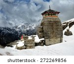 tungnath is the temple of lord... | Shutterstock . vector #272269856
