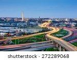Washington  Dc Skyline Of...