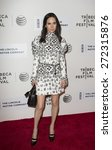 Small photo of New York, NY - April 24, 2015: Jennifer Connelly attends Tribeca Film Festival premiere of Aloft movie at BMCC Performing Arts Center