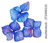 Watercolor Blue Violet...