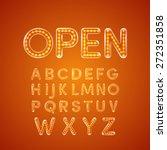 Led Glowing Font Illuminated...
