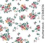 vintage vector print | Shutterstock .eps vector #272368256