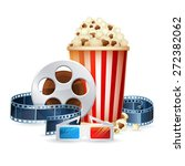 cinema and movie realistic... | Shutterstock .eps vector #272382062