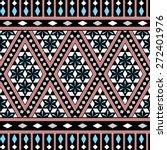 tribal seamless pattern. ethnic ... | Shutterstock .eps vector #272401976