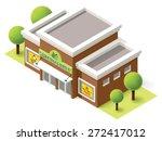 vector isometric icon... | Shutterstock .eps vector #272417012
