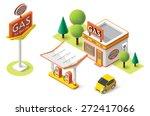 vector isometric icon... | Shutterstock .eps vector #272417066