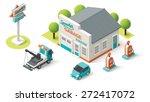 vector isometric icon... | Shutterstock .eps vector #272417072