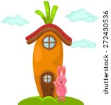 illustration of isolated cute... | Shutterstock .eps vector #272430536