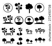 park icon set | Shutterstock .eps vector #272450738
