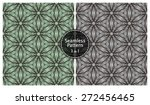 vector seamless abstract floral ... | Shutterstock .eps vector #272456465