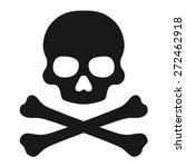 crossbones   death skull ...   Shutterstock .eps vector #272462918