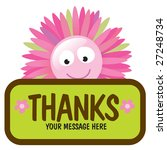 isolated flower with sign  add...   Shutterstock .eps vector #27248734