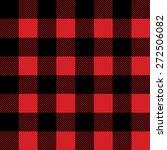lumberjack plaid flanel texture | Shutterstock .eps vector #272506082