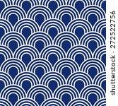 Seamless Porcelain Indigo Blue...
