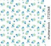 seamless vector blue floral... | Shutterstock .eps vector #2725368