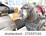 lathe machine | Shutterstock . vector #272537132