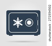 safe vector icon  vector eps 10 ... | Shutterstock .eps vector #272554502