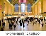 Grand Central Station In New...