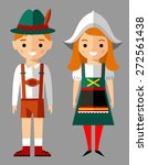 vector illustration of german... | Shutterstock .eps vector #272561438