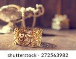 Vintage Golden Bracelet And...