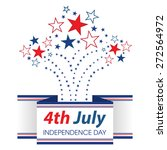 4th july american independence... | Shutterstock .eps vector #272564972