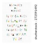 Cute Alphabet Of Nature....